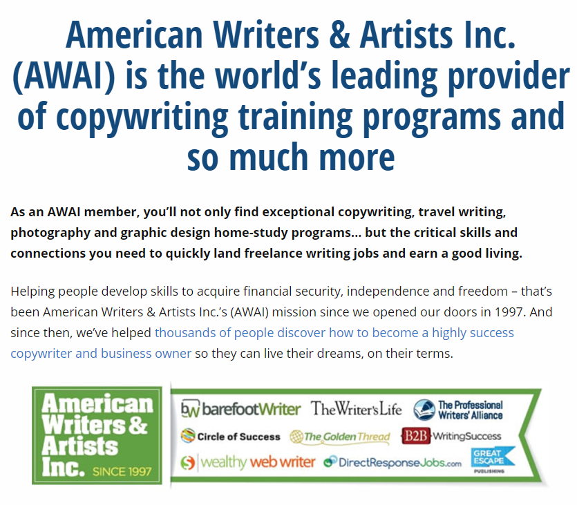 The Awai Accelerated Six Figure Copywriting program is a platform that teaches people how to write direct response letters. The also teach copy-writing.  sc 1 st  Financial independent people & Awai accelerated six figure copywriting review | - FINANCIAL ...